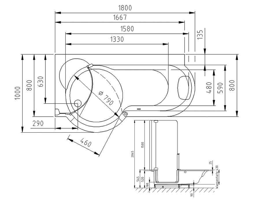 kleine duschen ma e uh78 kyushucon. Black Bedroom Furniture Sets. Home Design Ideas